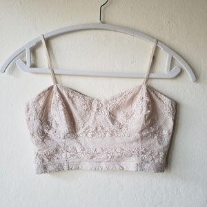 Frenchi Cream/Nude Bralette Under Garment